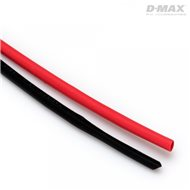 Heat Shrink Tube Red & Black D2mm x 1m