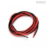 Wire Red & Black 22AWG D0.6/1.7mm x 1m