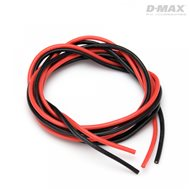 Wire Red & Black 18AWG D1.1/2.4mm x 1m
