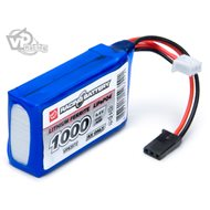 Receiver Battery Li-Fe 6,6V 1000mAh Cube