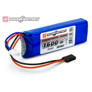 Receiver Battery Li-Fe 6,6V 1600mAh Flat
