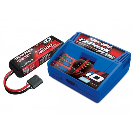 Charger EZ-Peak Plus 4A and 3S 4000mAh Battery Combo