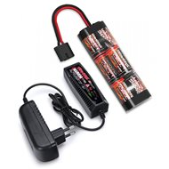 Charger (2A) and 8,4V NiMH 3000mAh Hump iD Combo