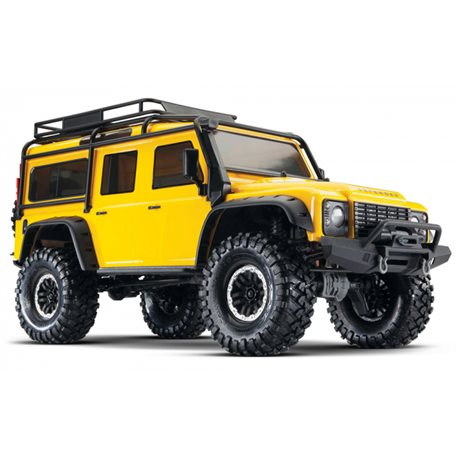 TRX-4 Scale & Trail Crawler Land Rover Defender Yellow RTR