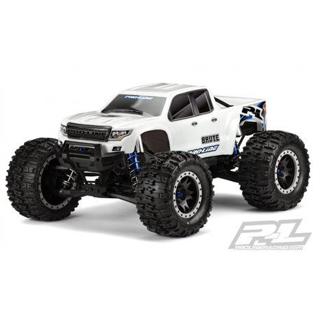 Body Brute Bash Armor White X-Maxx (Pre-cut)