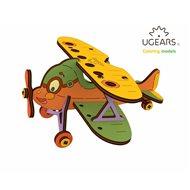 UGears Kids Kaksitasoinen lentokone