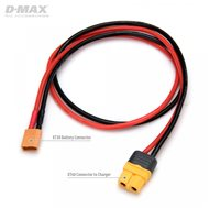 Charging Lead XT30 Male to XT60 14AWG 500mm