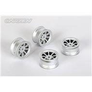 CARTEN 8 Spoke Wheel +1mm (Silver)