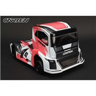 CARTEN Racing Truck M-Chassis Clear Body (210mm)
