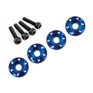 Wheel Screw & Washer Alu Blue