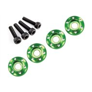 Wheel Screw & Washer Alu Green