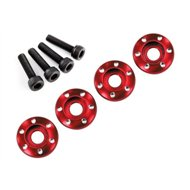 Wheel Screw & Washer Alu Red