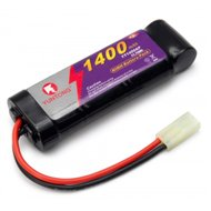 Battery 8.4v 1400mAh 2/3AF NiMH Mini-Tamiya-Airsoft