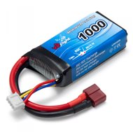 Li-Po Battery 11.1V 1000mAh 25C T-Connector