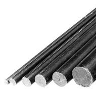Carbon rod 1.5x600mm 6pcs