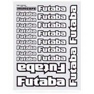 Decal Sheet Futaba (1 Sheet w. 20 logos)