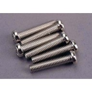 Screws, 4x20mm roundhead machine (6)