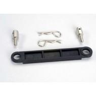 Battery hold-down plate (black