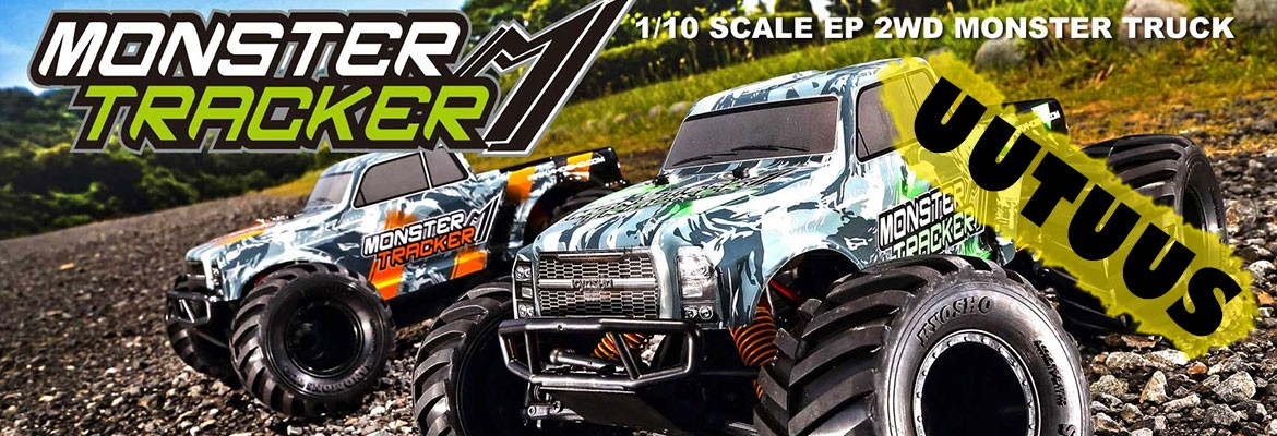 Uusi Kyosho Monster Tracker