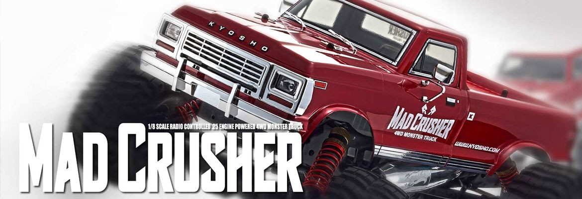 Uutuus Kyosho Mad Crusher